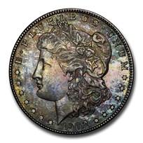 1878-1904 Morgan Dollars BU (Originally Toned)