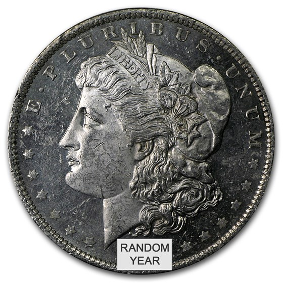 1878-1904 Morgan Dollars BU (Prooflike)