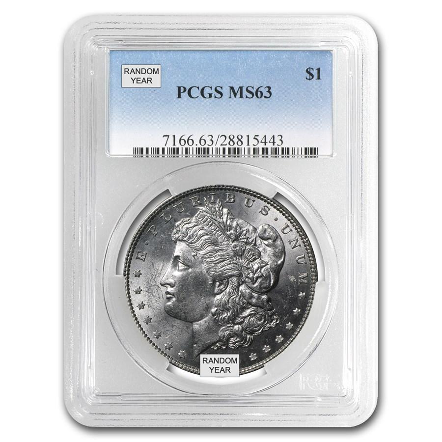 1878-1904 Morgan Dollars MS-63 PCGS