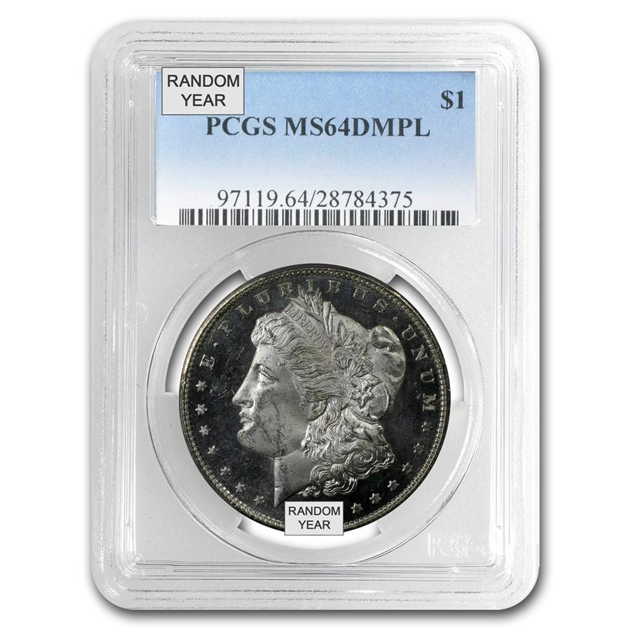 1878-1904 Morgan Dollars MS-64 DMPL PCGS