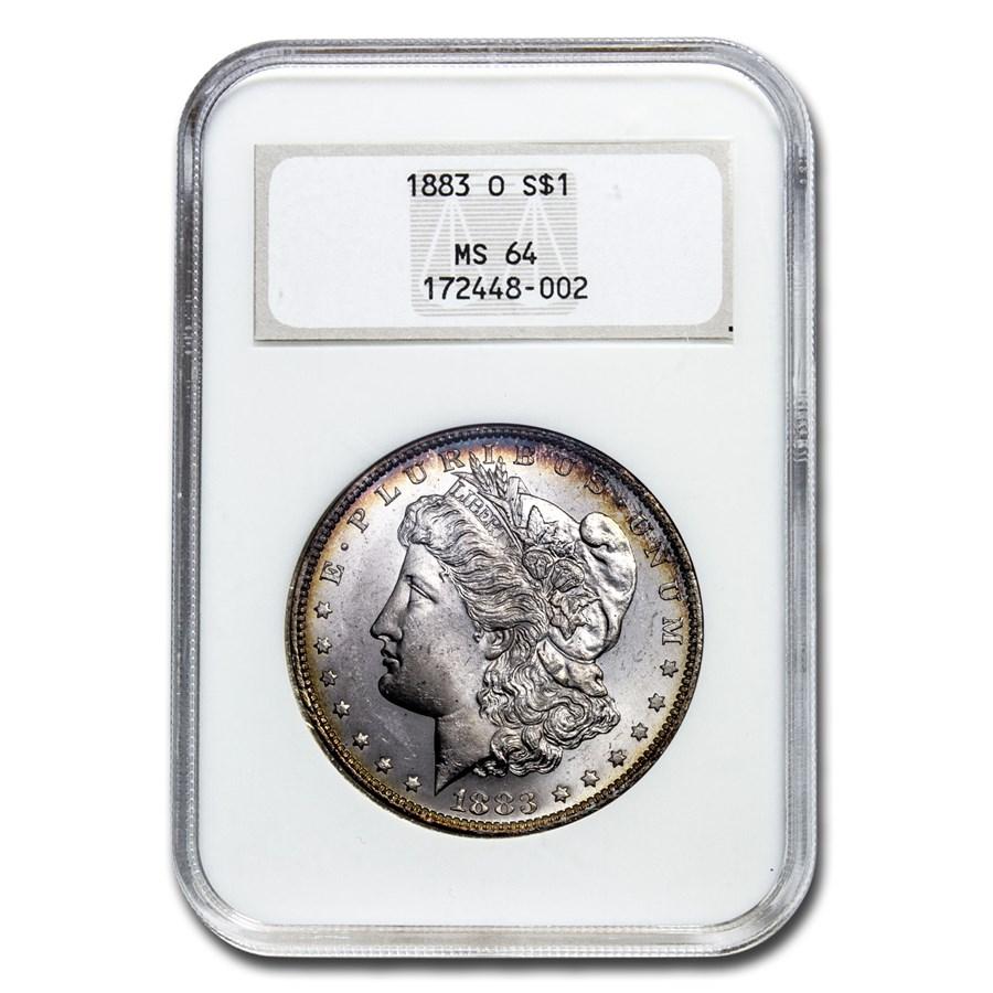 1878-1904 Morgan Dollars MS-64 NGC (Old Gen Holder)