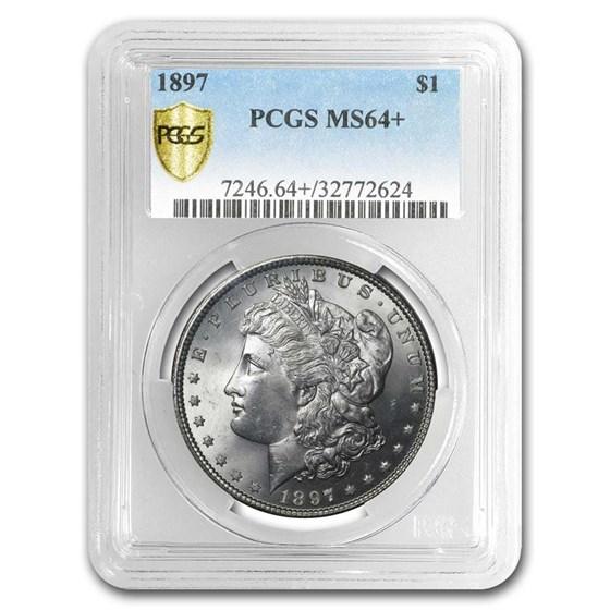 1878-1904 Morgan Dollars MS-64+ PCGS