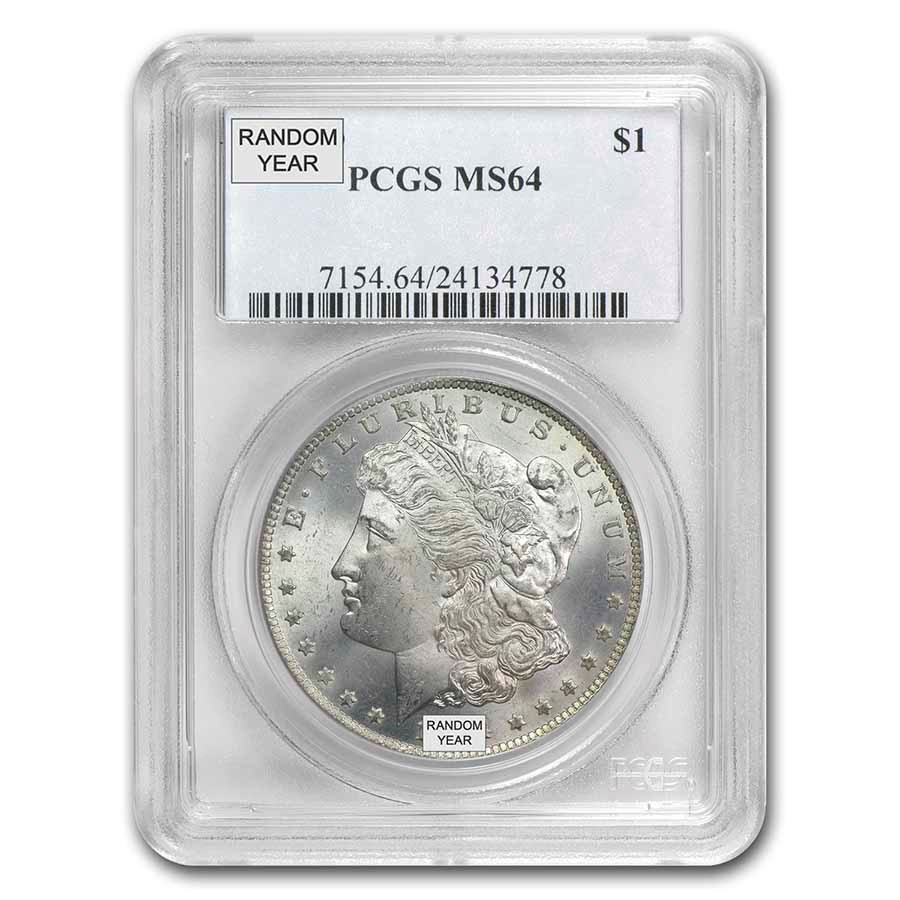 1878-1904 Morgan Dollars MS-64 PCGS