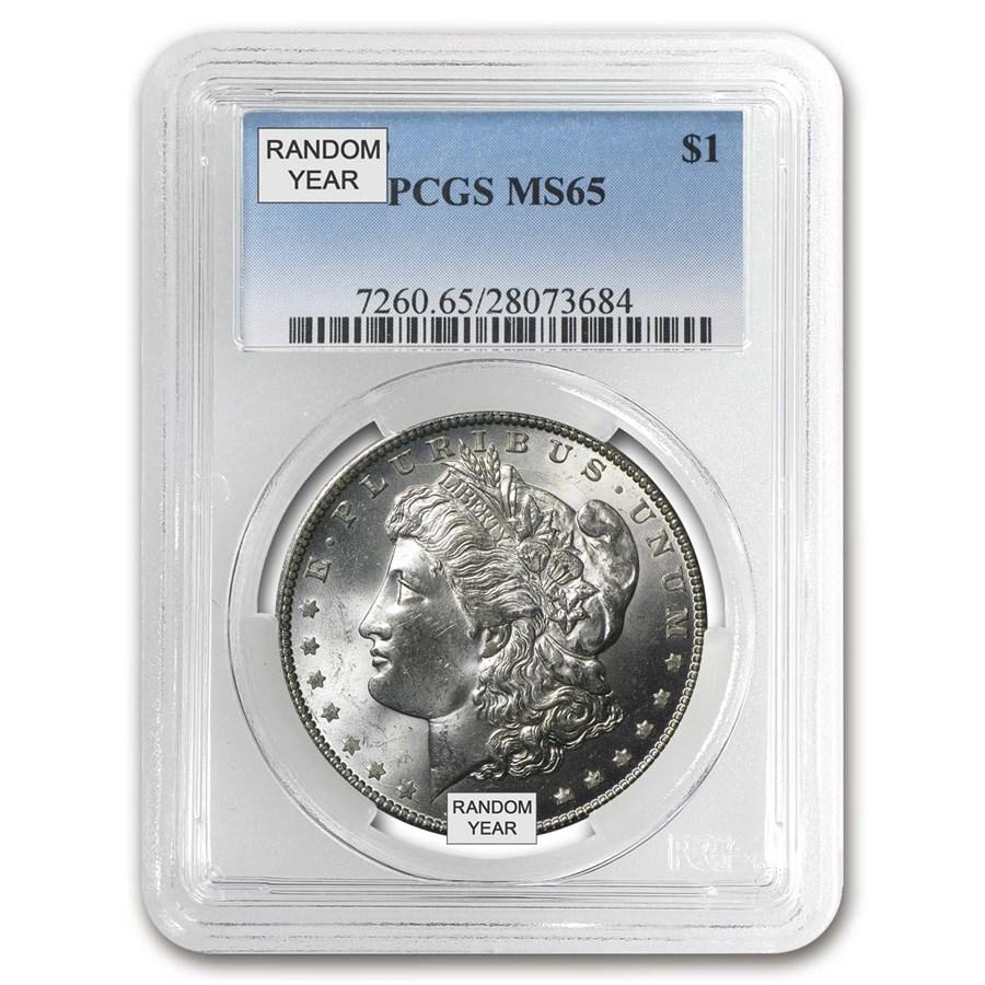 1878-1904 Morgan Dollars MS-65 PCGS