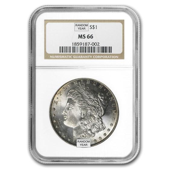 1878-1904 Morgan Dollars MS-66 NGC
