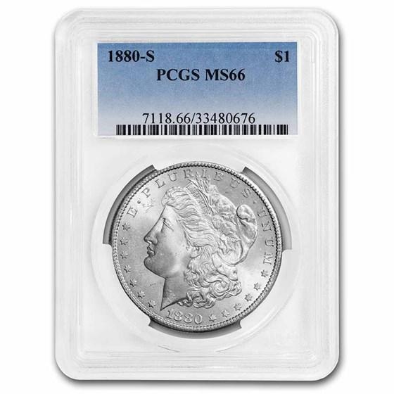 1878-1904 Morgan Dollars MS-66 PCGS