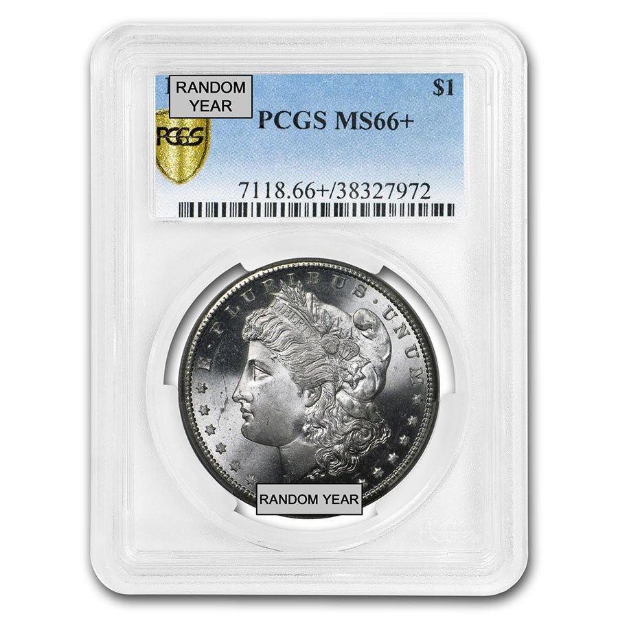 1878-1904 Morgan Dollars MS-66+ PCGS