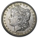 1878-1904 Morgan Silver Dollar AU (Cleaned, Random Year)
