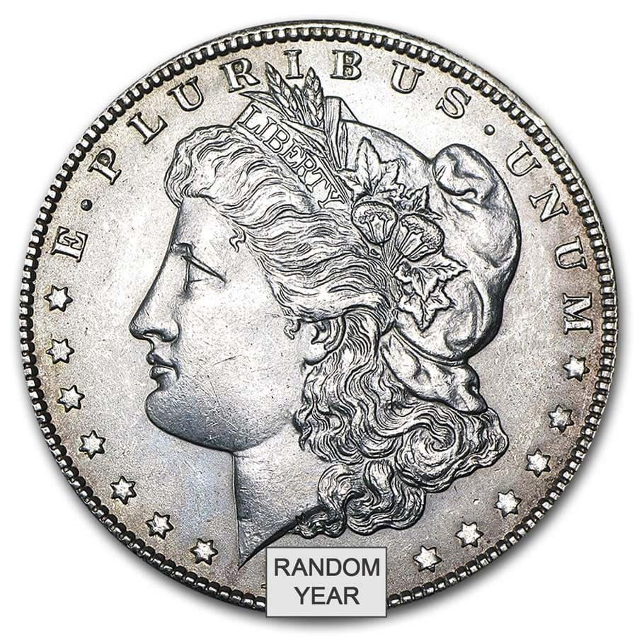 1878-1904 Morgan Silver Dollar AU (Random Year)