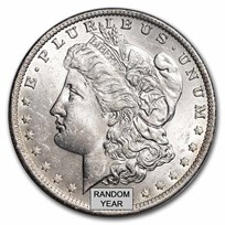 1878-1904 Morgan Silver Dollar BU (Random Year)