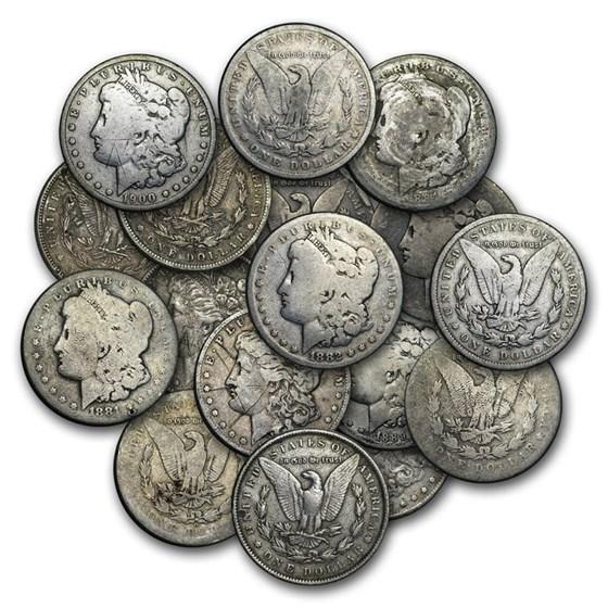 1878-1904 Morgan Silver Dollar Cull (Random Year)