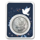 1878-1904 Morgan Silver Dollar Dove of Peace BU (Random Year)