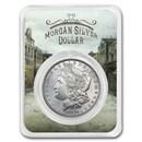 1878-1904 Morgan Silver Dollar Old Town Card BU (Random Year)