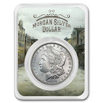 1878-1904 Morgan Silver Dollar Old Town Card BU (Random Year)