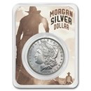 1878-1904 Morgan Silver Dollar Shootout Card BU (Random Year)