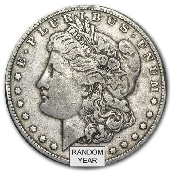 1878-1904 Morgan Silver Dollar VG-VF (Random Year)