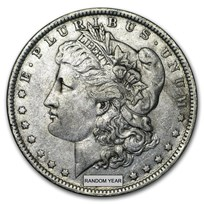 1878-1904 Morgan Silver Dollar XF (Cleaned, Random Year)