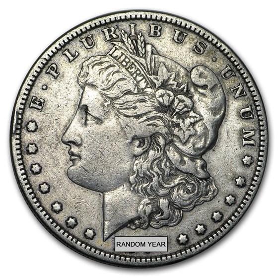 1878-1904 Morgan Silver Dollars VG-VF (Cleaned, Random Year)