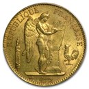 1878-1914 France Gold 100 Francs Lucky Angel (BU)