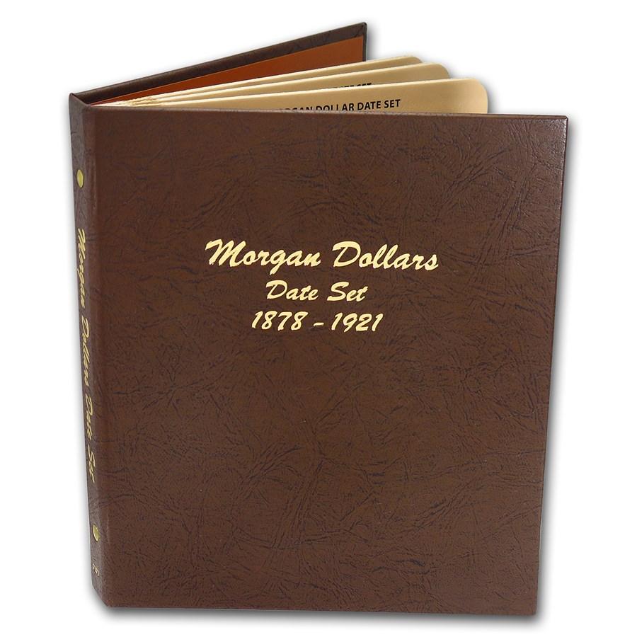 1878-1921 29-Coin Morgan Dollar Date Set (Average Circulated)