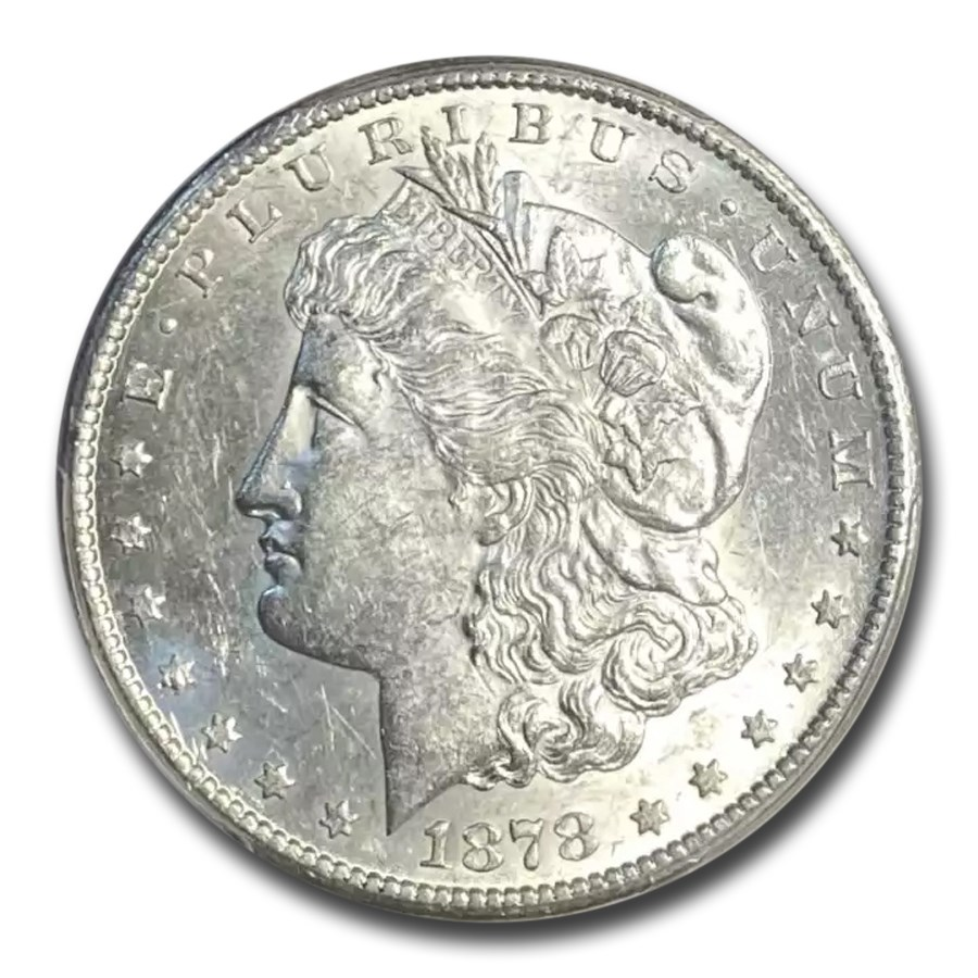 1878-CC Morgan Dollar AU-58 PCGS
