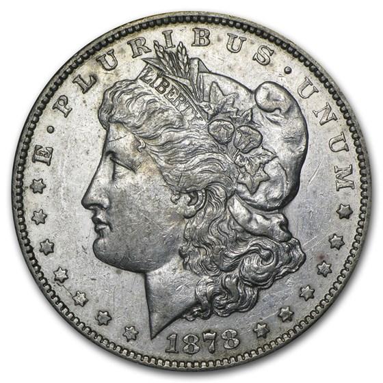 1878-CC Morgan Dollar AU