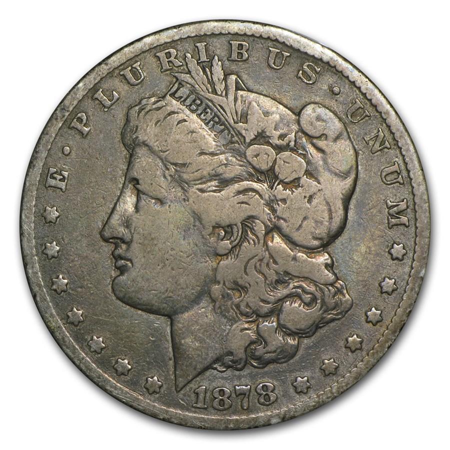 1878-CC Morgan Dollar Fine