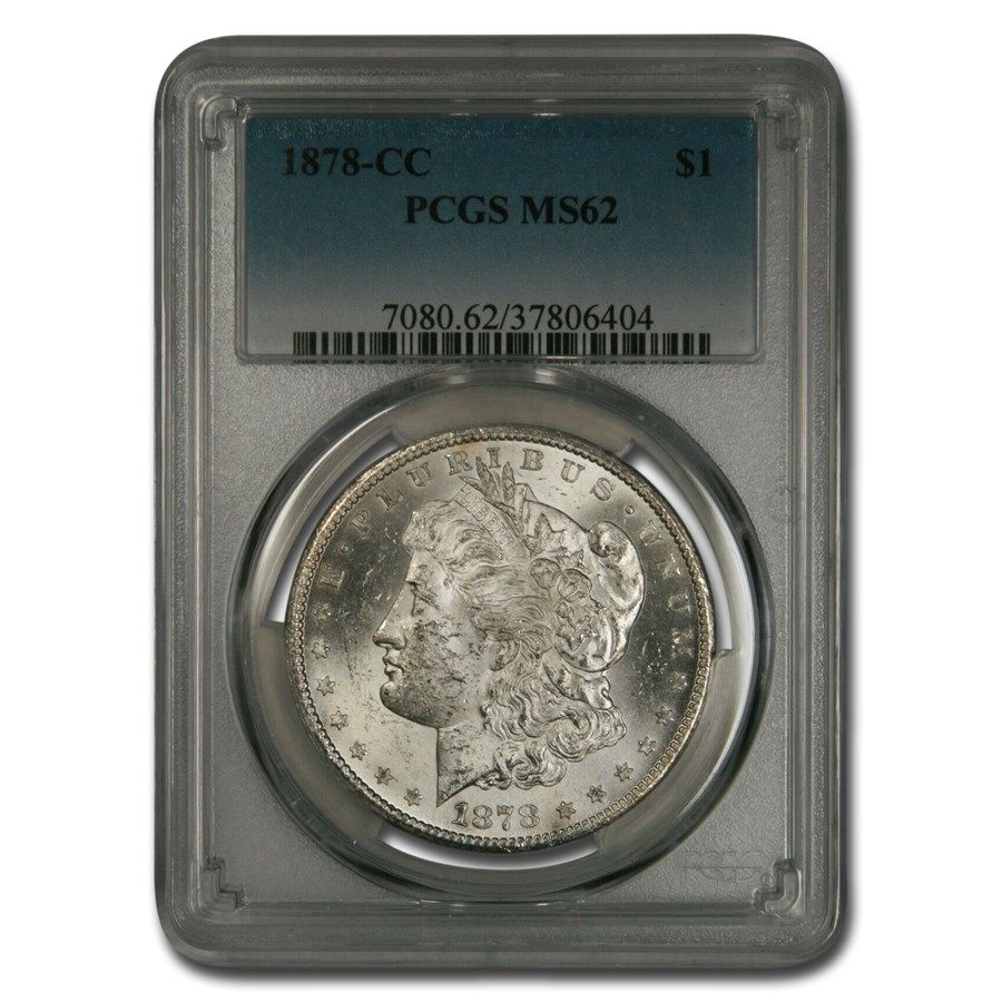 1878-CC Morgan Dollar MS-62 PCGS