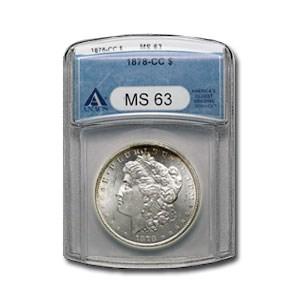 1878-CC Morgan Dollar MS-63 ANACS