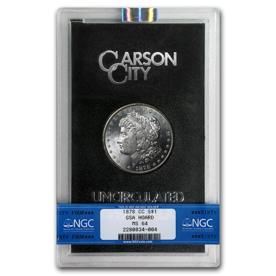 1878-CC Morgan Dollar MS-64 NGC (GSA)
