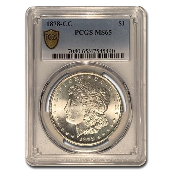 1878-CC Morgan Dollar MS-65 PCGS