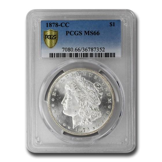 1878-CC Morgan Dollar MS-66 PCGS