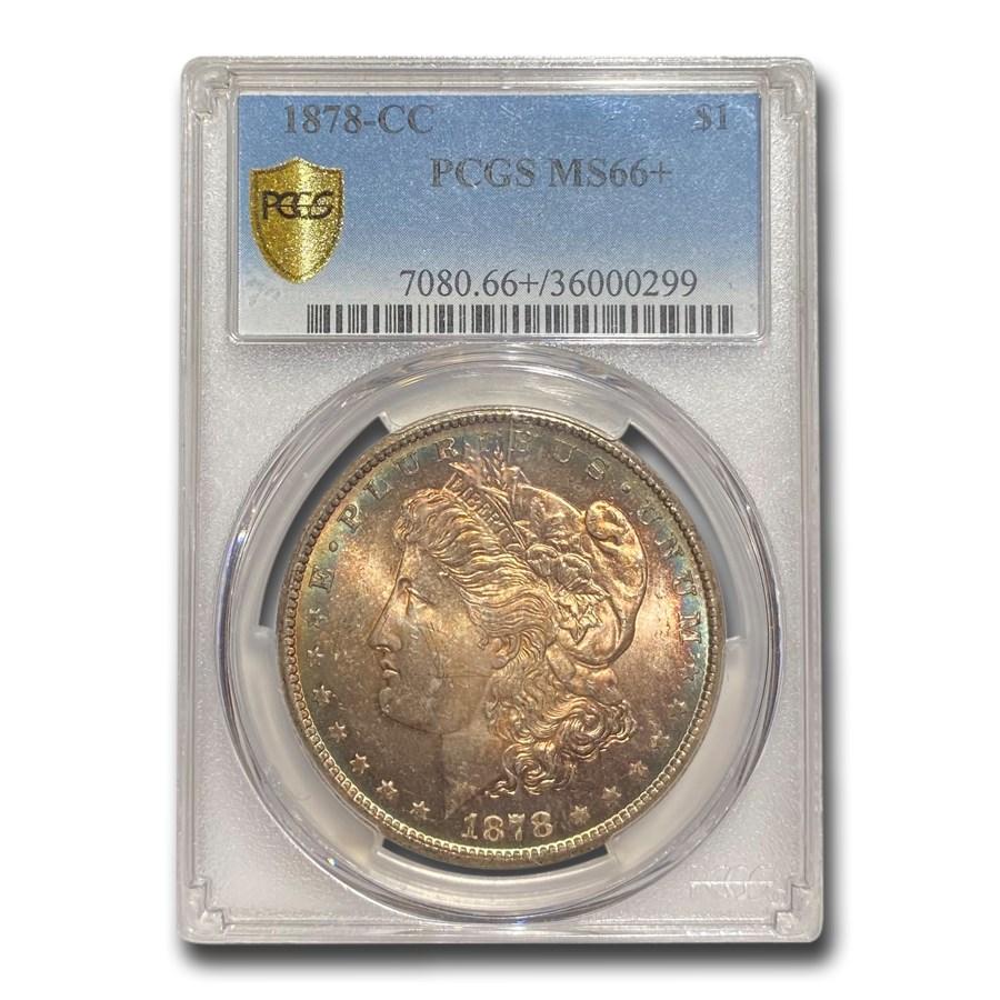 1878-CC Morgan Dollar MS-66+ PCGS