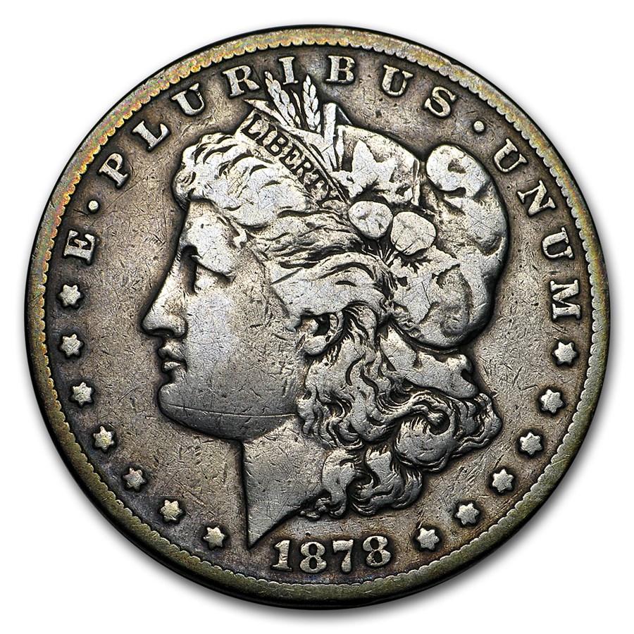 1878-CC Morgan Dollar VF Details (Cleaned)