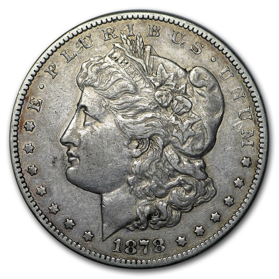 1878-CC Morgan Dollar VF