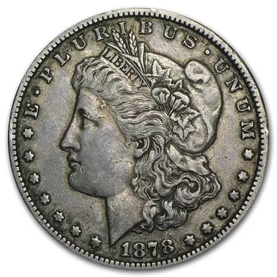 1878-CC Morgan Dollar XF