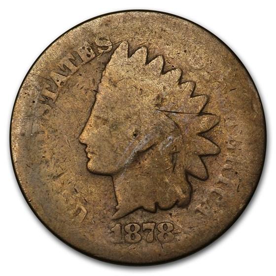 1878 Indian Head Cent AG