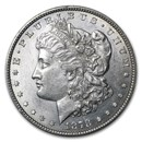 1878 Morgan Dollar 7/8 Tailfeathers AU