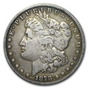 1878 Morgan Dollar 7 Tailfeathers Rev of 78 VG-VF