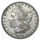 1878 Morgan Dollar 7 Tailfeathers Rev of 79 AU