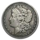 1878 Morgan Dollar 8 Tailfeathers Fine