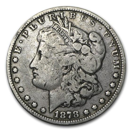 1878 Morgan Dollar 8 Tailfeathers VG/VF