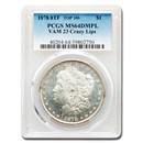 1878 Morgan Dollar DMPL MS-64 PCGS (VAM 23 Crazy Lips)