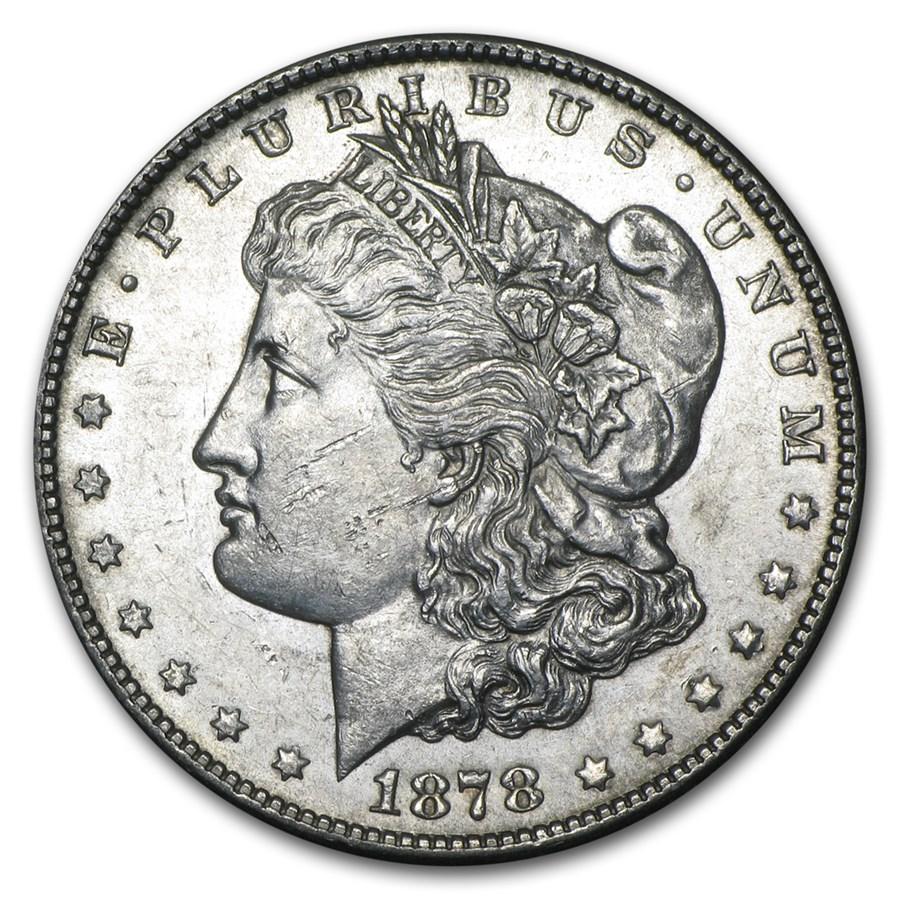 1878-S Morgan Dollar AU