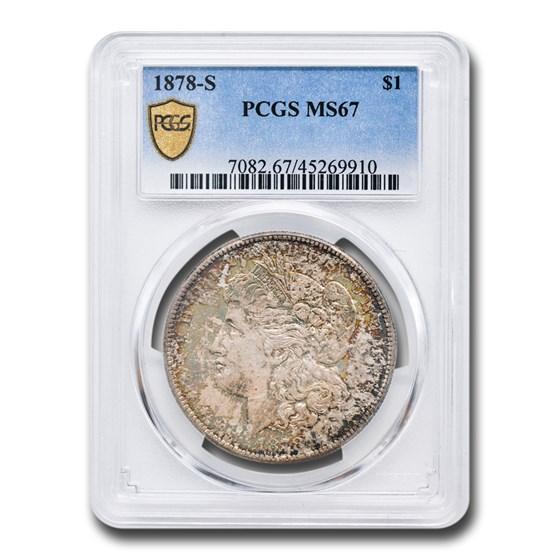 1878-S Morgan Dollar MS-67 PCGS