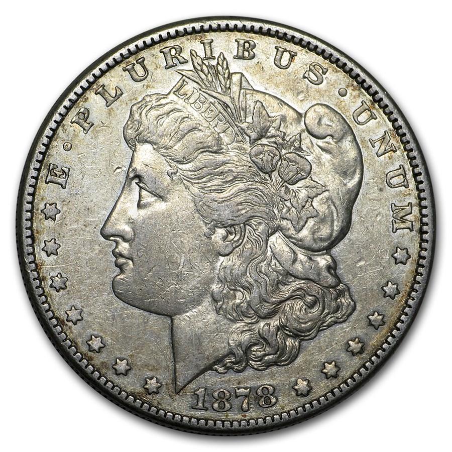 1878-S Morgan Dollar VG/VF