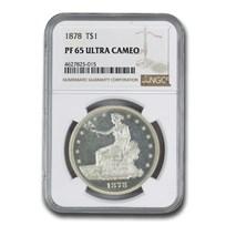1878 Trade Dollar PF-65 UCAM NGC
