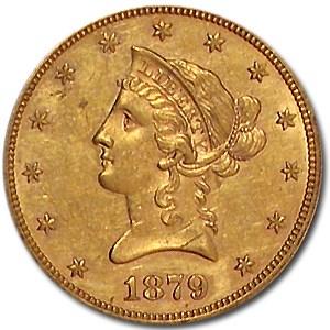 1879 $10 Liberty Gold Eagle XF