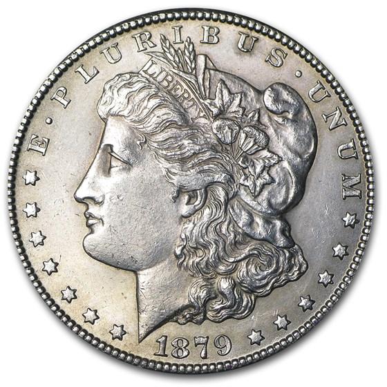1879-CC Morgan Dollar BU