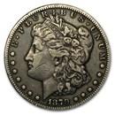 1879-CC Morgan Dollar Capped CC VF